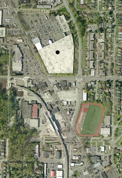 Mt. Baker Proposed Town Center Area Ariel View