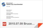 Bruce Harrell Letter